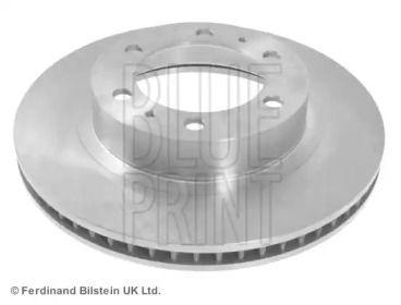 Вентилируемый передний тормозной диск на Тайота Фортунер 'BLUE PRINT ADT343219'.
