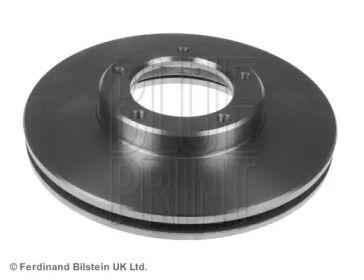 Вентилируемый передний тормозной диск на Тайота Хайэйс 'BLUE PRINT ADT34324'.