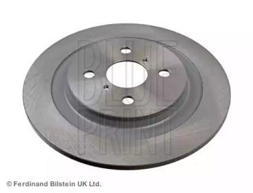 Задний тормозной диск на Дайхатсу Шарада 'BLUE PRINT ADT343274'.