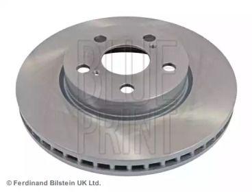 Вентилируемый передний тормозной диск на LEXUS CT 'BLUE PRINT ADT343283'.