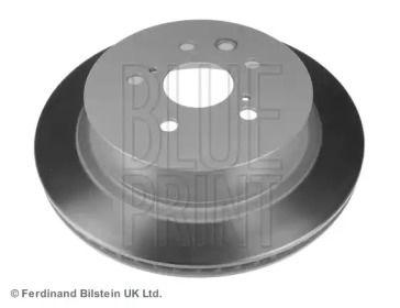 Вентилируемый задний тормозной диск на LEXUS RC 'BLUE PRINT ADT343291'.