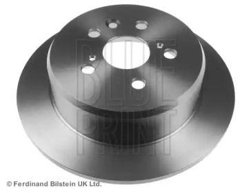 Задний тормозной диск на TOYOTA CORONA 'BLUE PRINT ADT34352'.