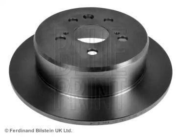 Задний тормозной диск на Тайота Калдина 'BLUE PRINT ADT34363'.