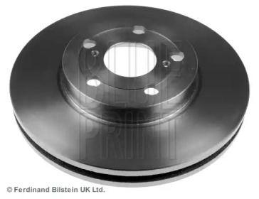 Вентилируемый передний тормозной диск на TOYOTA CARINA 'BLUE PRINT ADT34365'.