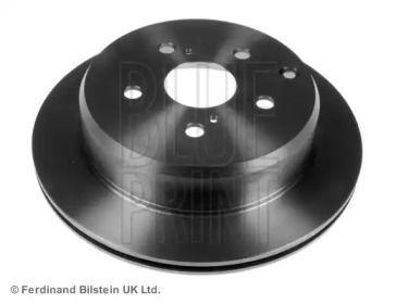 Вентилируемый задний тормозной диск на Тайота Супра 'BLUE PRINT ADT34371'.