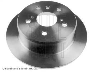Задний тормозной диск на TOYOTA CAMRY 'BLUE PRINT ADT34373'.