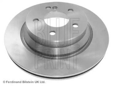 Вентилируемый задний тормозной диск на MERCEDES-BENZ GLK 'BLUE PRINT ADU174301'.