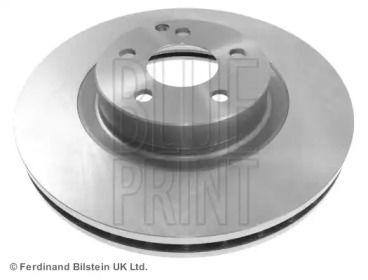 Вентилируемый передний тормозной диск на Мерседес ГЛК 'BLUE PRINT ADU174302'.