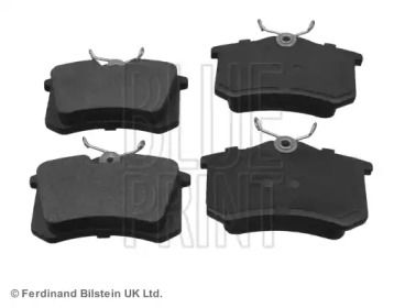 Задние тормозные колодки на SEAT LEON 'BLUE PRINT ADV184206'.