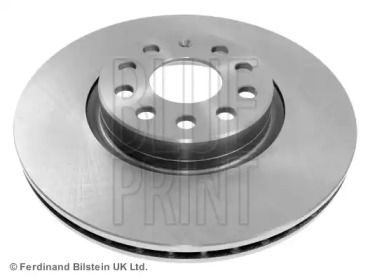 Вентилируемый передний тормозной диск на Шкода Кодиак 'BLUE PRINT ADV184308'.