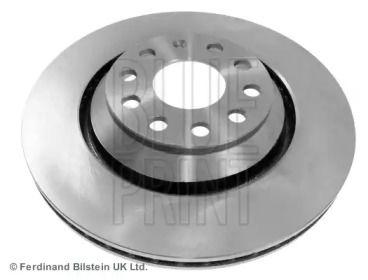 Вентилируемый задний тормозной диск на Фольксваген Тигуан 'BLUE PRINT ADV184310'.