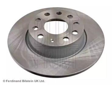 Задний тормозной диск на Ауди Ку2 'BLUE PRINT ADV184326'.