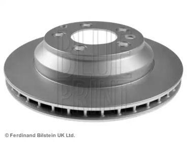 Вентилируемый задний тормозной диск на Ауди Ку7 'BLUE PRINT ADV184332'.