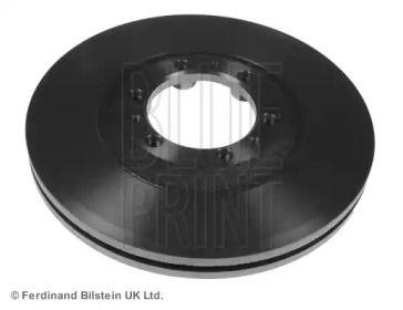 Вентилируемый передний тормозной диск на OPEL MONTEREY 'BLUE PRINT ADZ94311'.