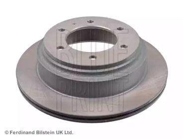Вентилируемый задний тормозной диск на OPEL FRONTERA 'BLUE PRINT ADZ94313'.