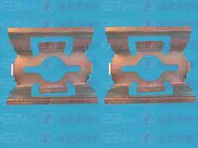 Скоби гальмівних колодок на MAZDA DEMIO SEINSA D42346A.