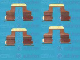 Скобы тормозных колодок на Фольксваген Джетта 'SEINSA D42465A'.