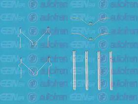 Скоби гальмівних колодок на MAZDA DEMIO SEINSA D42476A.