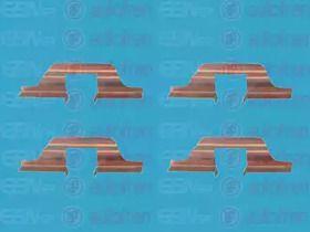 Скобы тормозных колодок на SEAT TOLEDO 'SEINSA D42492A'.