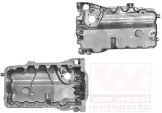 Масляный поддон двигателя на SEAT ALTEA 'VAN WEZEL 0334070'.