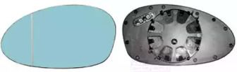Стекло зеркала заднего вида 'VAN WEZEL 0657838'.