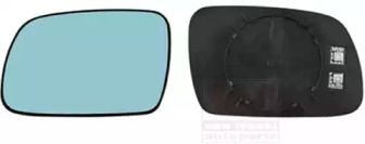 Праве скло дзеркала заднього виду VAN WEZEL 4060838.