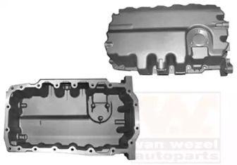 Масляный поддон двигателя на Сеат Альтеа 'VAN WEZEL 4941070'.