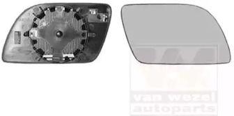 Стекло зеркала заднего вида 'VAN WEZEL 5827838'.