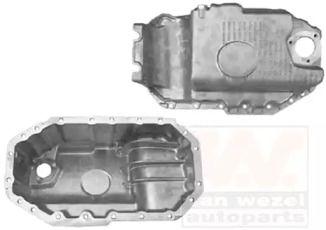 Масляный поддон двигателя на Шкода Октавия А5 'VAN WEZEL 5888077'.