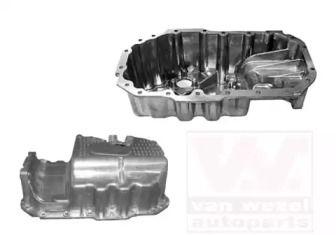 Масляный поддон двигателя на SKODA OCTAVIA A5 'VAN WEZEL 5894071'.