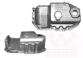 Масляный поддон двигателя на SKODA OCTAVIA A5 'VAN WEZEL 5894072'.