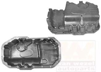 Масляный поддон двигателя на SKODA OCTAVIA A5 'VAN WEZEL 5894073'.