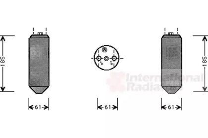Осушувач, кондиціонер на MITSUBISHI CARISMA 'VAN WEZEL 3200D151'.