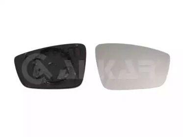 Правое стекло зеркала заднего вида на SEAT TOLEDO 'ALKAR 6402093'.
