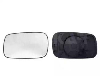 Правое стекло зеркала заднего вида на Фольксваген Пассат 'ALKAR 6402154'.