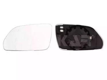 Левое стекло зеркала заднего вида на SKODA OCTAVIA A5 'ALKAR 6411111'.