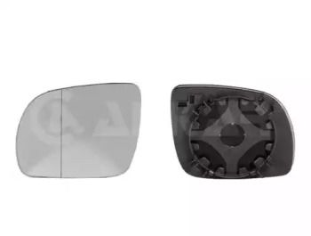 Правое стекло зеркала заднего вида на Фольксваген Гольф 'ALKAR 6432127'.