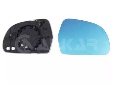 Правое стекло зеркала заднего вида на Шкода Октавия А5 'ALKAR 6432577'.