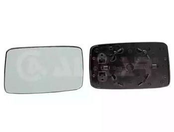 Левое стекло зеркала заднего вида на VOLKSWAGEN GOLF 'ALKAR 6451125'.