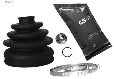 Комплект пыльника ШРУСа на Шкода Октавия А5 'GSP 780112'.