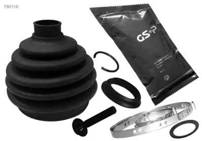 Комплект пыльника ШРУСа на Шкода Октавия А5 'GSP 780116'.