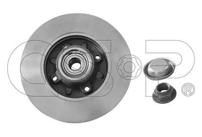 Тормозной диск 'GSP 9225042K'.