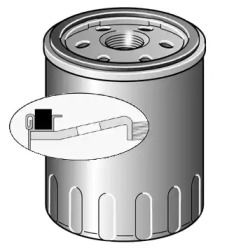 Масляний фільтр на Мерседес Гла  PURFLUX LS946.