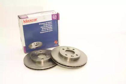 Вентилируемый тормозной диск 'KLAXCAR FRANCE 25005z'.