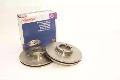 Вентилируемый тормозной диск 'KLAXCAR FRANCE 25010z'.