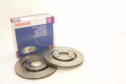 Вентилируемый тормозной диск 'KLAXCAR FRANCE 25011z'.