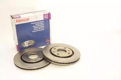 Вентилируемый тормозной диск 'KLAXCAR FRANCE 25020z'.