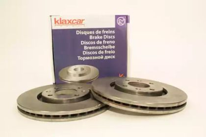 Вентилируемый тормозной диск 'KLAXCAR FRANCE 25023z'.
