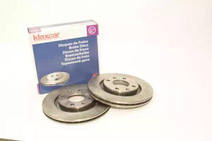 Вентилируемый тормозной диск 'KLAXCAR FRANCE 25024z'.