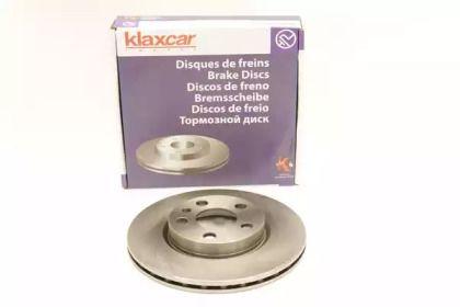 Вентилируемый тормозной диск 'KLAXCAR FRANCE 25027z'.
